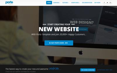 Porto Responsive WordPress and WooCommerce Theme Review