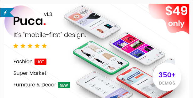 Download Puca – Optimized Mobile WooCommerce Theme